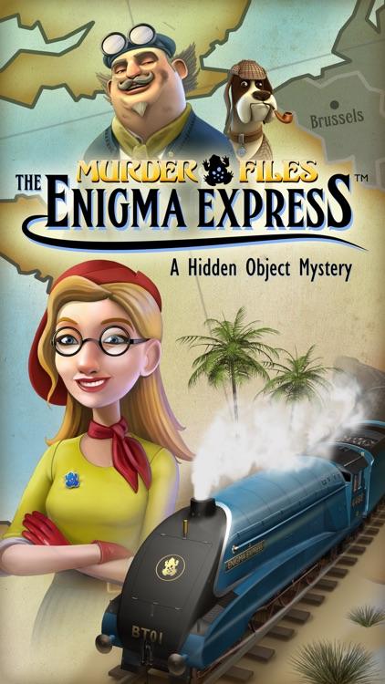 Enigma Express - A Hidden Object Mystery screenshot-0