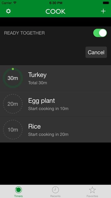 Cook - Kitchen Timers screenshot-0
