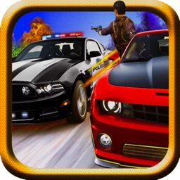 Police Rampage 3D (Car Racing & Shooting Game)