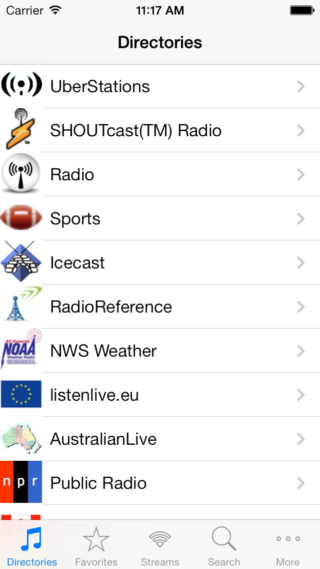 Radio Screenshot 1