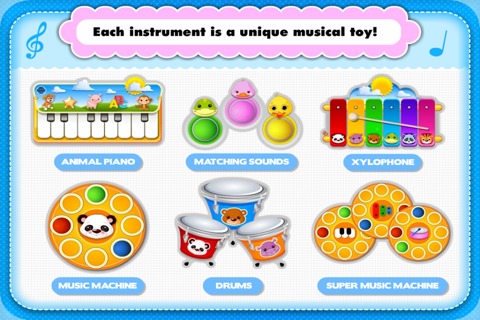 Abby Monkey® Musical Puzzle Games: Music & Songs Builder Learning Toy for Toddlers and Preschool Kids screenshot 1