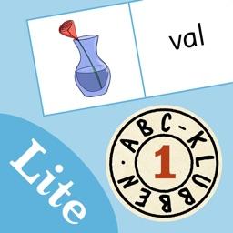 ABC-klubben: ABC-domino Lite