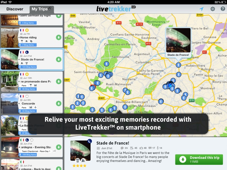 LiveTrekker GO screenshot-2