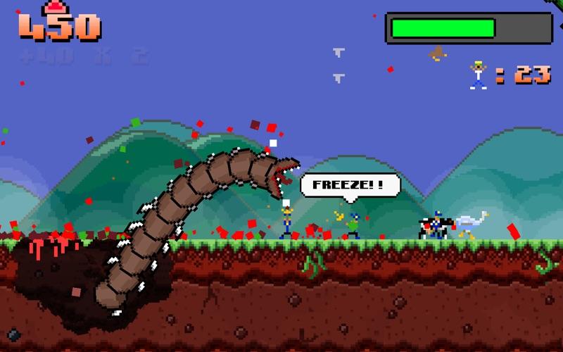 Super Mega Worm – À vous de semer la terreur-capture-4