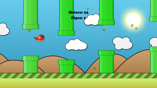 Jumpy Bird - The Adventure of a Tiny Bird screenshot two