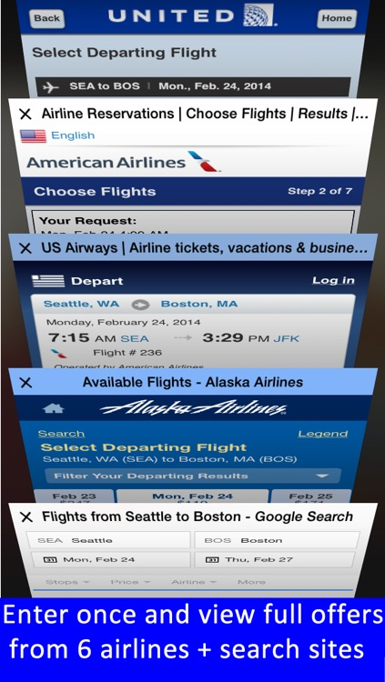 Portland Airport PDX + Flight Tracker Premium Alaska screenshot-4