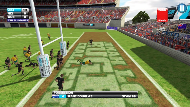 Jonah Lomu Rugby Challenge: Gold Edition screenshot-3