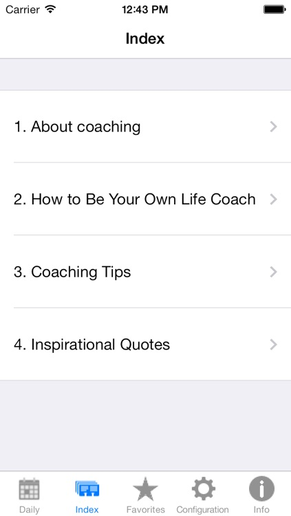 Life Coaching. Method and Quotes