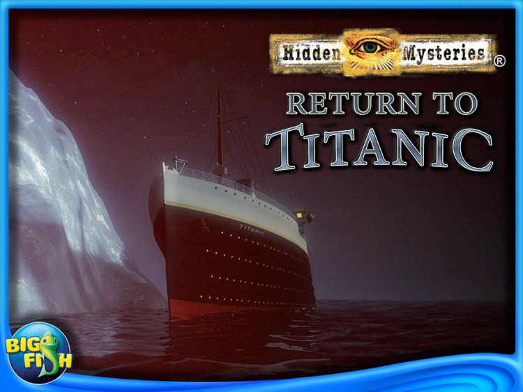 Return to Titanic: Hidden Mysteries HD - A Hidden Object Adventure screenshot-4