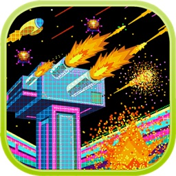Retro galaxy: Last Defense