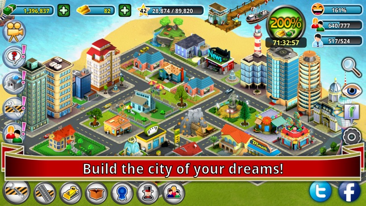 City Island: Premium - Builder Tycoon - Citybuilding Sim Game from Village to Megapolis Paradise - Gold Edition screenshot-3