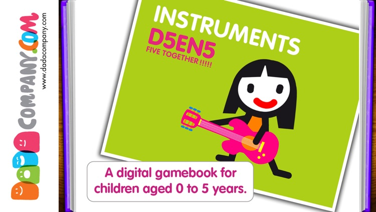 D5EN5: The Instruments - An Interactive Game Book for babies and toddlers screenshot-0
