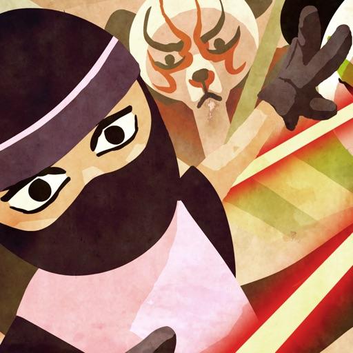 A Ninja Princess vs. Robot Kabuki Bears- Can you Escape through Dragon Temple? iOS App