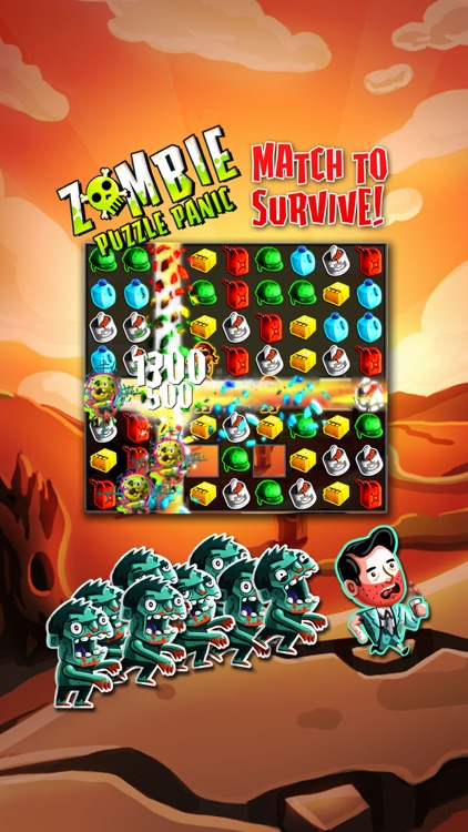 Zombie Puzzle Panic screenshot-0