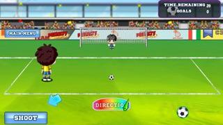 フリックペナルティサッカーPK戦 - Flick Penalty Soccer Shootoutのスクリーンショット1