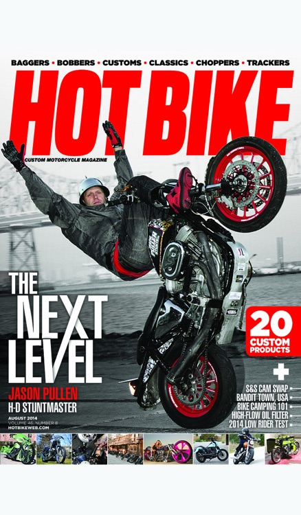 Hot Bike Magazine Archive