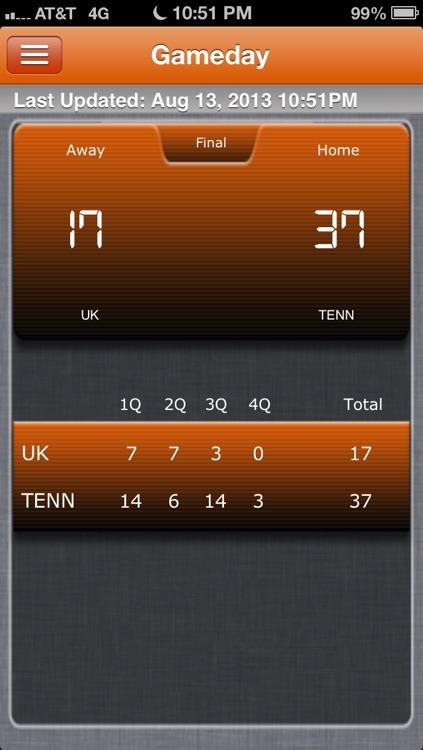 Tennessee Vols Football Live screenshot-4