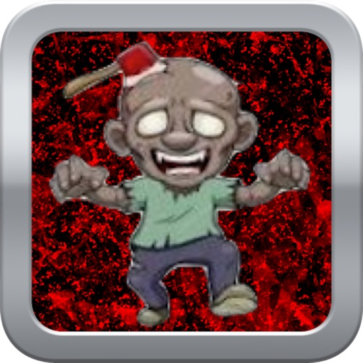 Bloody Zombie Behind Wooden Crate - Quick Tap