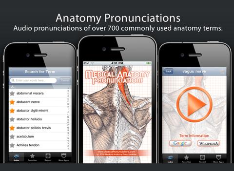 Anatomy Pronunciations Liteのおすすめ画像1