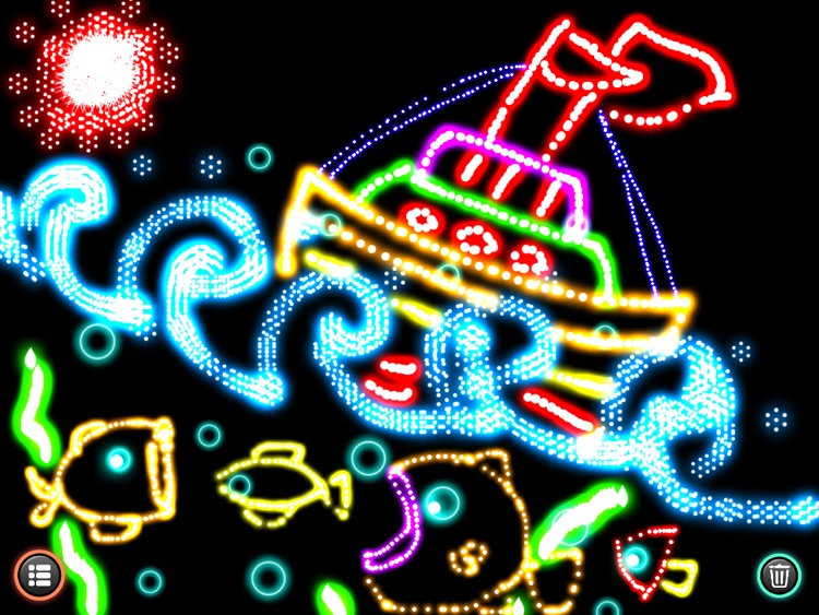 Glow Doodle !! - Paint, Draw and Sketch with Sparkle Glowing Particles