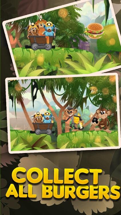Burger-Crazy Bears Battle of the Super Evil Cookie Monkey PRO screenshot-3