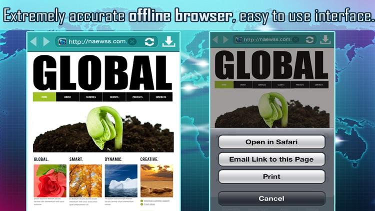Offline Web Browsing Tool screenshot-4