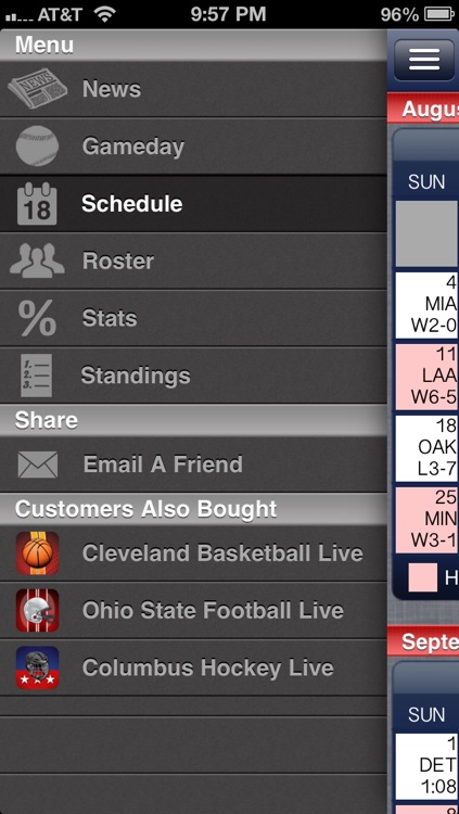 Cleveland Baseball Live screenshot-1