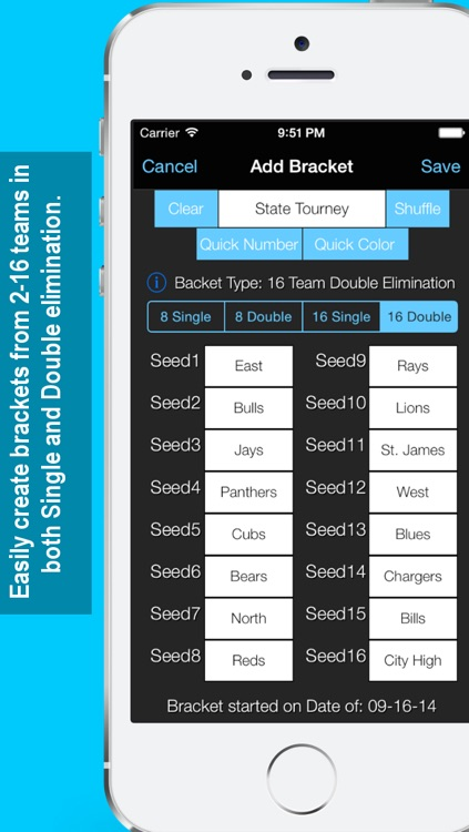 Bracket Maker screenshot-1