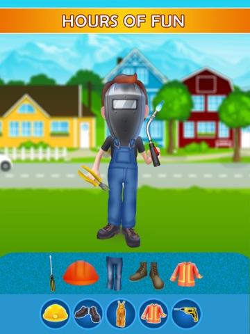 Dress Up Builder Bill - Fun Kids Game-ipad-2