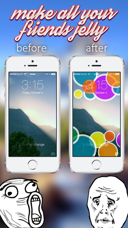 iLocks Pro - Custom Lock Screen Backgrounds Designer screenshot-1