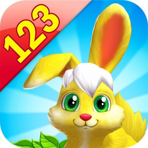 Bunny Math Race for Kids