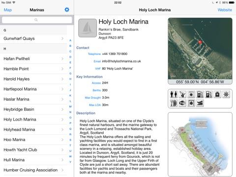Marina Guide-ipad-0