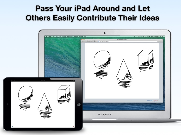 Air Sketch Free: Wireless Smart Whiteboard for Classrooms, Presentations, Meetings, and Collaboration screenshot-4