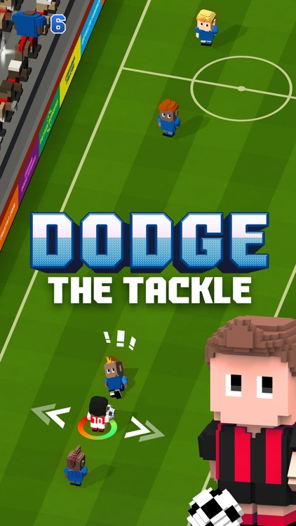 Blocky Soccer - Endless Arcade Runner