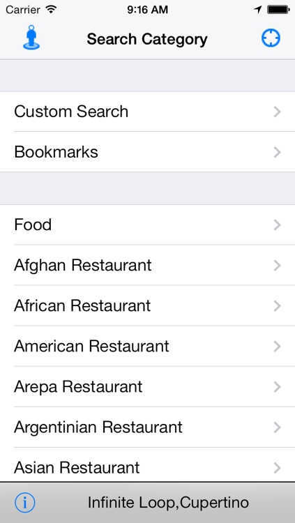 Nearby Food - Restaurant Finder