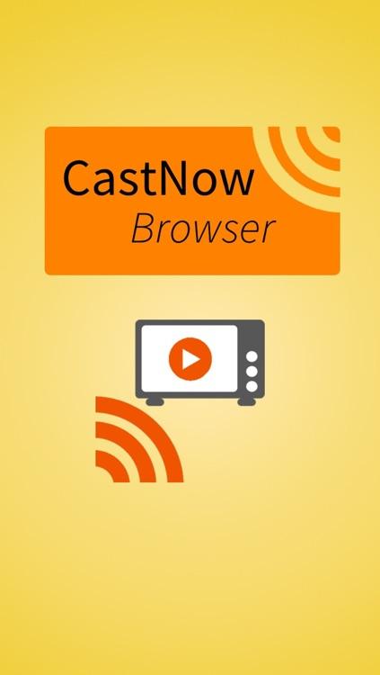 CastNow Browser for Chromecast
