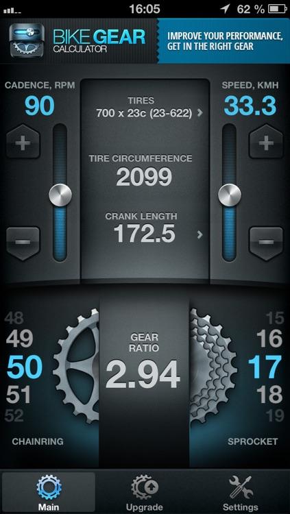 Bike Gears Free - Bike Gear Calculator free, Cycling Gear Calculator Free