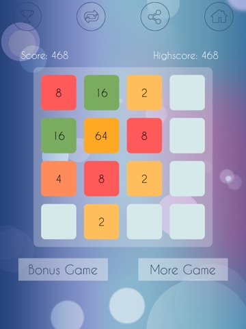 1024 Brain Teasers - Cool block puzzle game-ipad-0