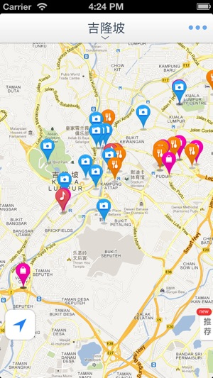 Kuala Lumpur Offline Mapoffline map subway map GPS tourist