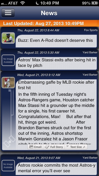 Houston Baseball Live screenshot-3