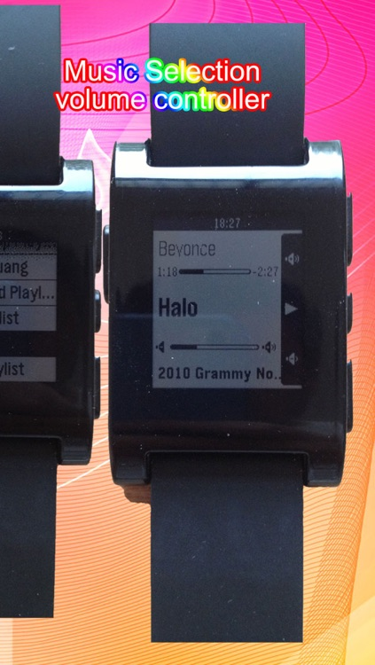 Music for Pebble Smartwatch: Remote Song Control and View screenshot-4