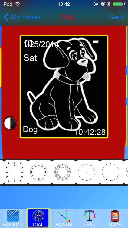 Pebble Faces Creator - Build and Create Unlimited Faces for Pebble SmartWatch screenshot-3
