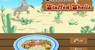 Mexican shells - cooking game