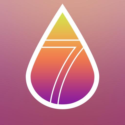 Wallpaper Designer - Design Wallpaper for iOS 7 (Blur and adjust image hue)