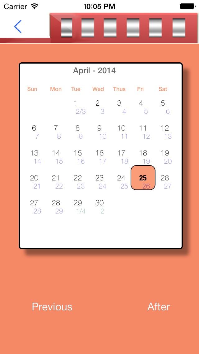 Solar Lunar Calendar | App Price Drops