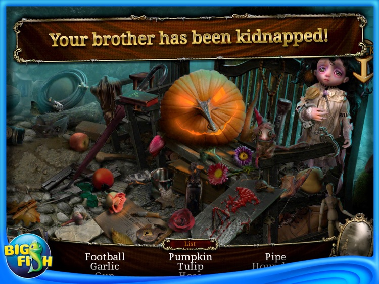 Tales of Terror: Crimson Dawn HD - A Hidden Object Adventure