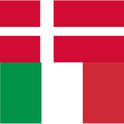 Danish - Italian - Danish dictionary