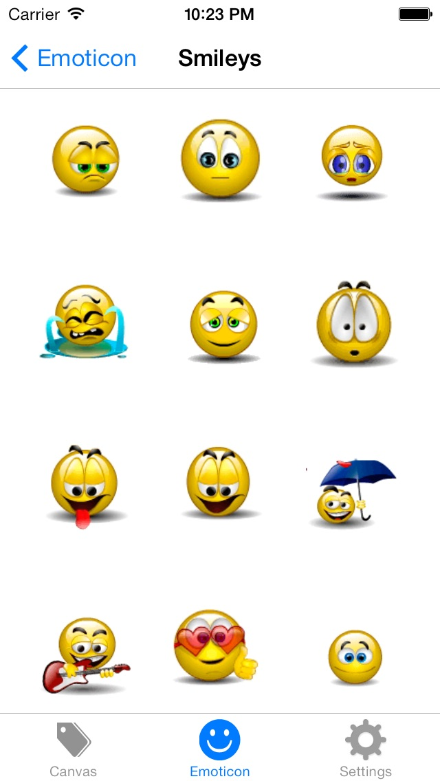 Emoji Keyboard 2 - Smiley Animations Icons Art & New Hot/Pop Emoticons Stickers For Kik,BBM,WhatsApp,Facebook,Twitter Messenger Screenshot