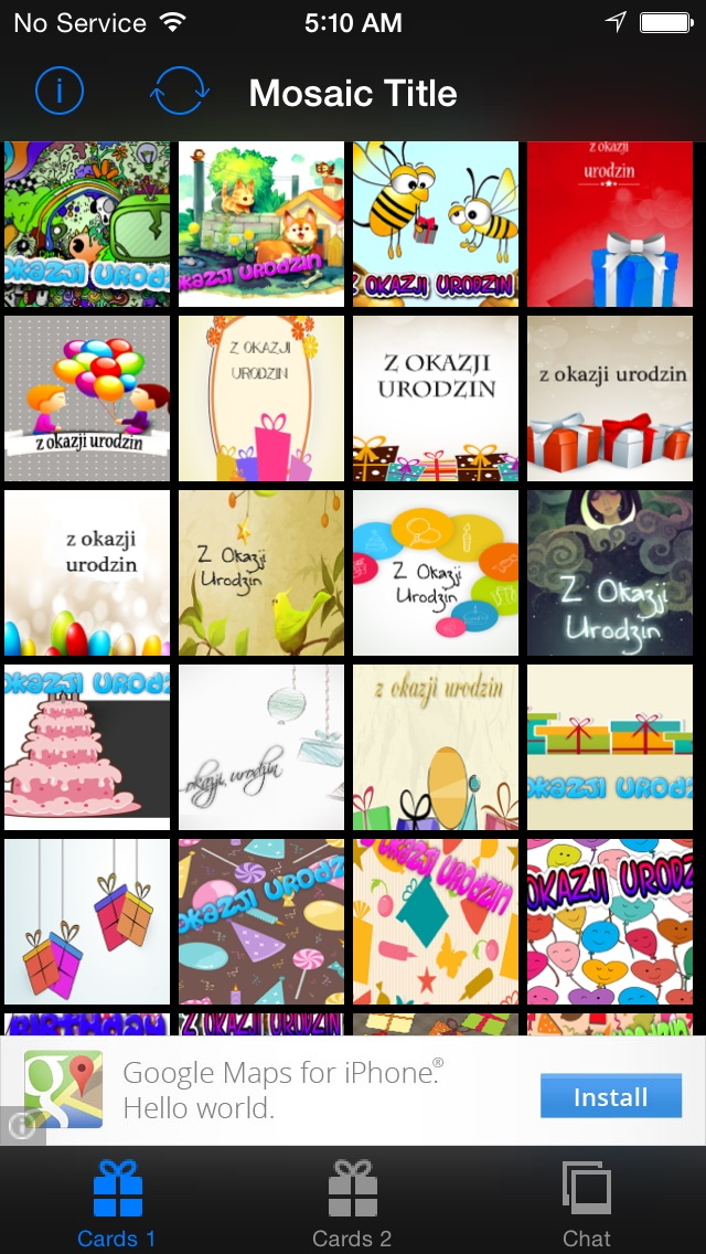 Happy Birthday Cards Greetings Cards Polish App Mobile Apps