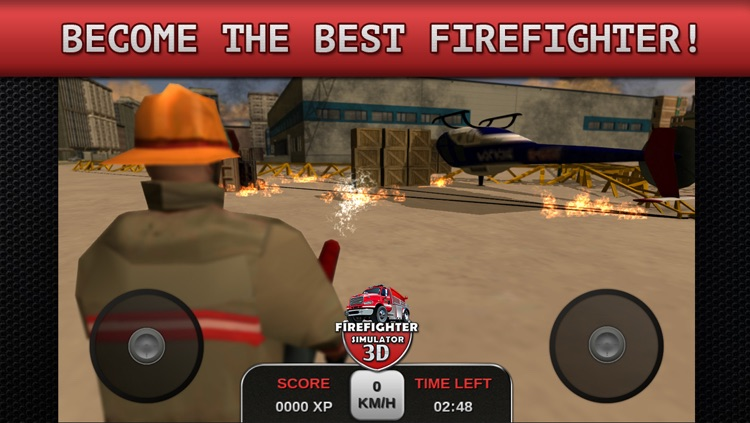 Firefighter Simulator 3D screenshot-3
